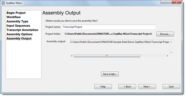 Part A: Setting up and running a de novo RNA-Seq assembly in