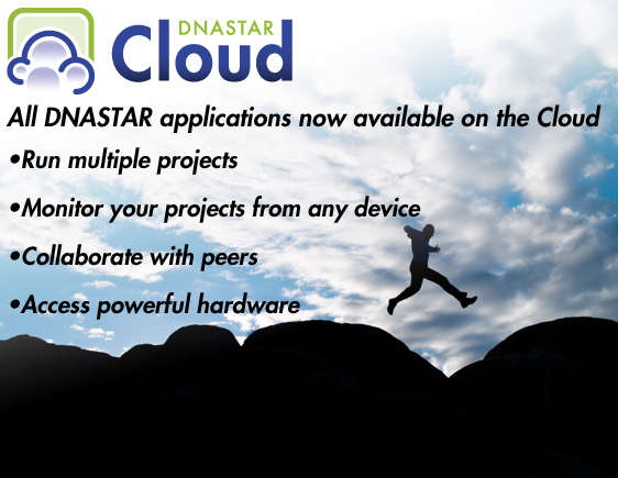 Access DNASTAR Software on the Cloud