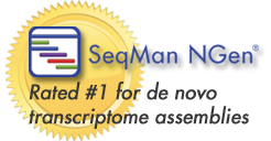 SeqMan NGen Best for de novo Transcriptome Assemblies