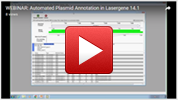 Automated Plasmid Annotation in Lasergene 14.1 Webinar Video