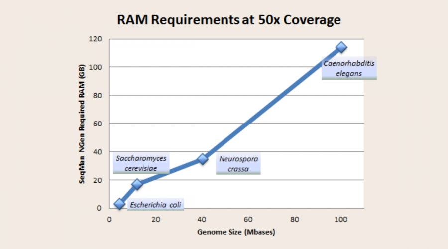 How Much RAM Do I Need for My De Novo Genome Assembly?