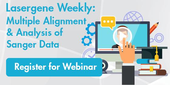 Multiple Alignment & Analysis of Sanger Data Webinar